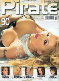 Front cover of Pirate 90 magazine