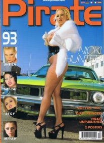 Front cover of Pirate 93 magazine