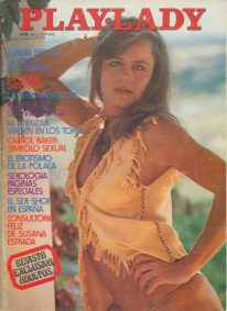 Front cover of Play Lady No 86 magazine