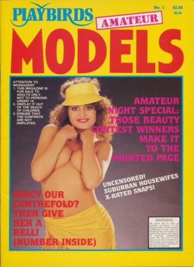 Front cover of Playbirds Amateur Models 1 magazine