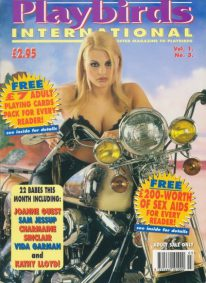 Front cover of Playbirds International Volume 1 Number 3 magazine