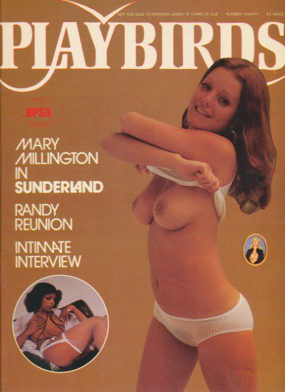 Front cover of Playbirds No 20 magazine