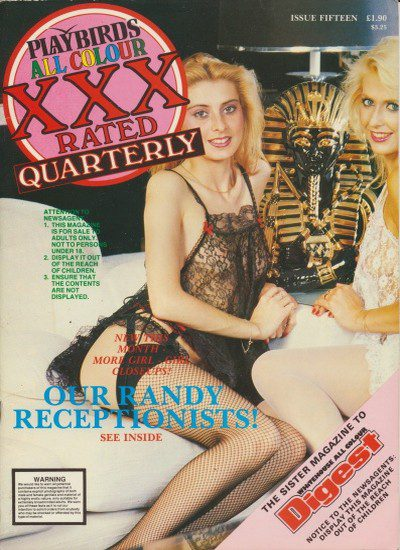 Front cover of Playbirds Quarterly XXX 15 magazine