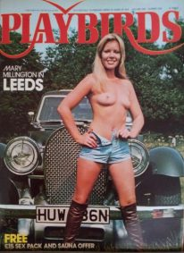 Front cover of Playbirds Number 1 magazine