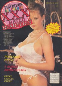 Front cover of Playbirds XXX Quarterly Issue 40 magazine