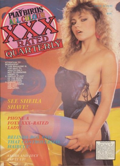 Front cover of Playbirds Quarterly XXX 50 magazine