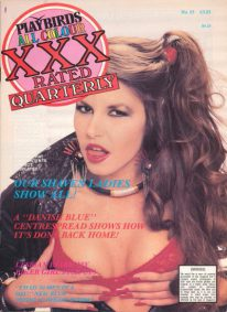 Front cover of Playbirds XXX Quarterly Number 55 magazine