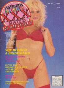 Front cover of Playbirds XXX Quarterly Number 60 magazine