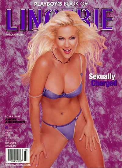 Front cover of Playboy's Book of Lingerie March/April 2002 magazine