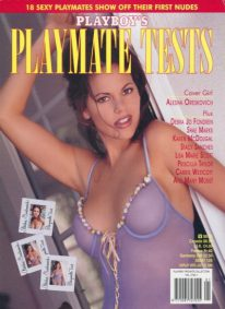 Front cover of Playboy's Playmate Tests Vol 3 No 1 magazine