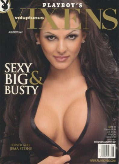 Front cover of Playboy's Vixens August/September 2009 magazine