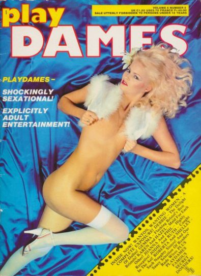 Front cover of Play Dames Volume 5 No 2 magazine