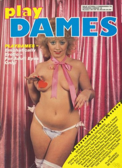 Front cover of Play Dames No 80 magazine