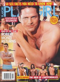 Front cover of Playgirl No 60 2012 magazine