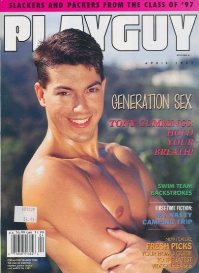 Front cover of Playguy April 1997 magazine
