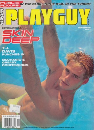 Front cover of Playguy December 1997 magazine