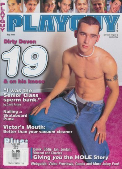 Front cover of Playguy July 2000 magazine