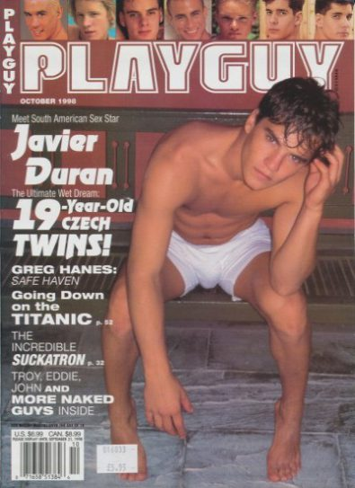 Front cover of Playguy October 1998 magazine