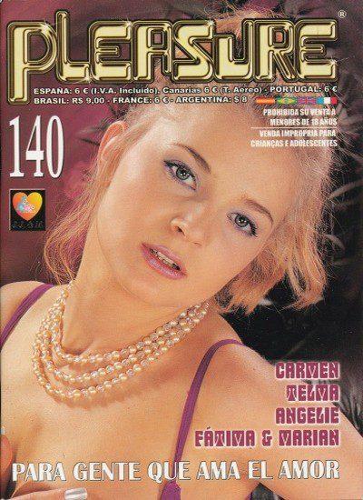 Front cover of Pleasure No 140 magazine