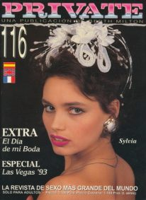 Front cover of Private 116 magazine