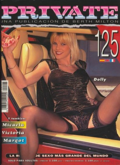 Front cover of Private 125 magazine