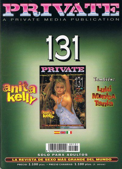 Front cover of Private 131 magazine