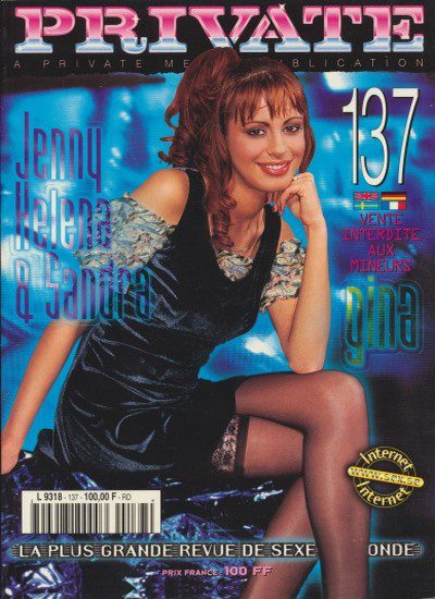 Front cover of Private 137 magazine