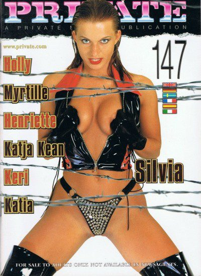 Front cover of Private 147 magazine