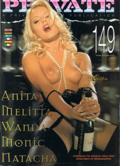 Front cover of Private 149 magazine