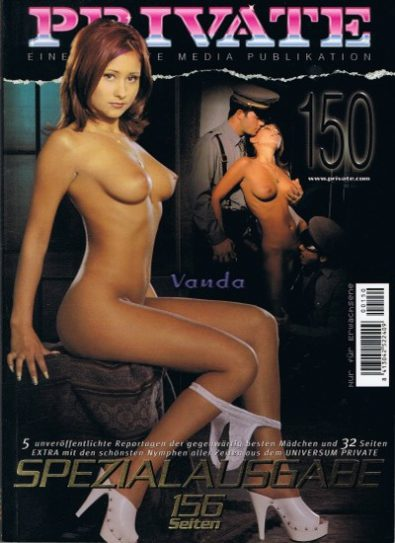Front cover of Private 150 magazine
