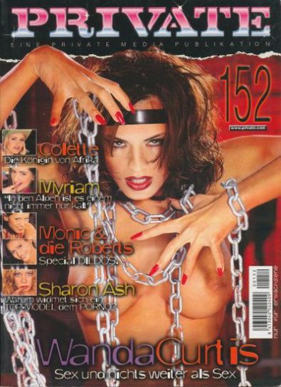 Front cover of Private 152 magazine