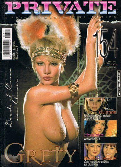 Front cover of Private 154 magazine