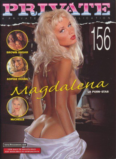 Front cover of Private 156 magazine