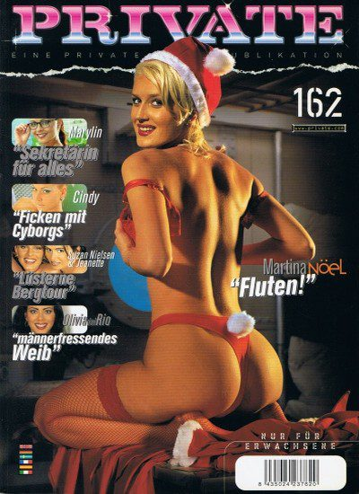 Front cover of Private 162 magazine
