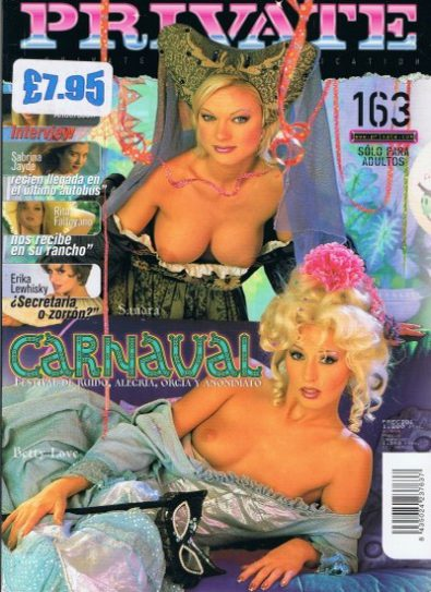 Front cover of Private 163 magazine