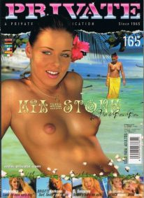 Front cover of Private 165 magazine