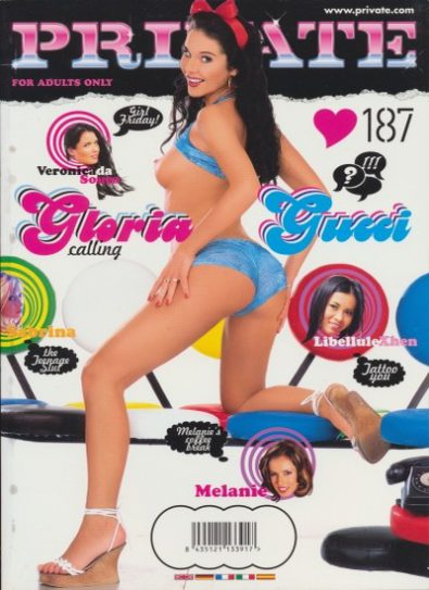 Front cover of Private 187 magazine