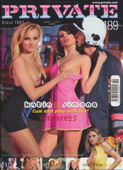 Front cover of Private 189 magazine