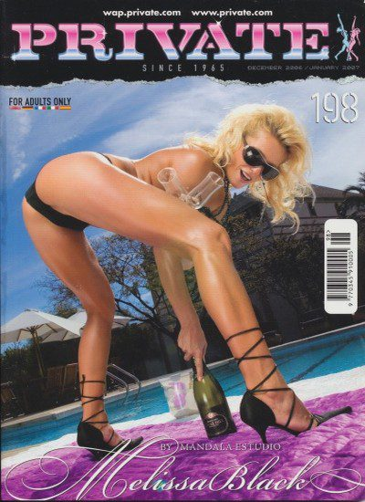 Front cover of Private 198 magazine
