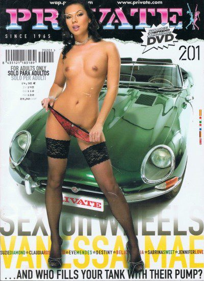 Front cover of Private 201 magazine
