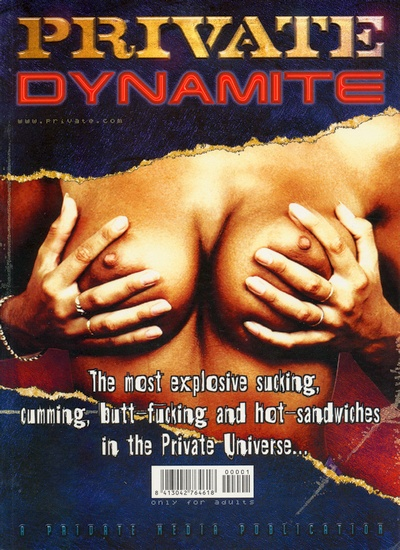 Front cover of Private Dynamite magazine