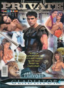 Front cover of Private Gladiator magazine