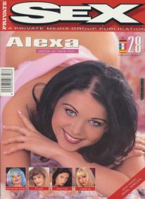 Front cover of Private Sex 28 magazine
