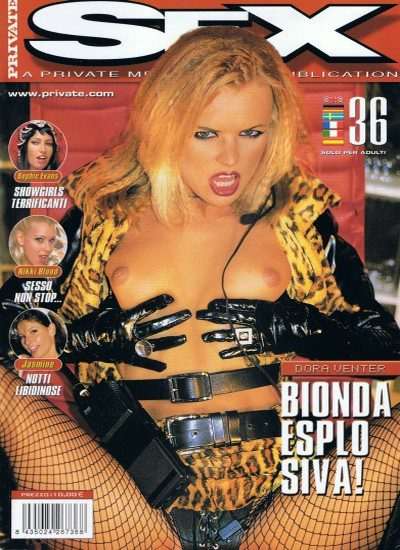 Front cover of Private Sex 36 magazine