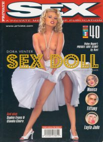 Front cover of Private Sex 40 magazine