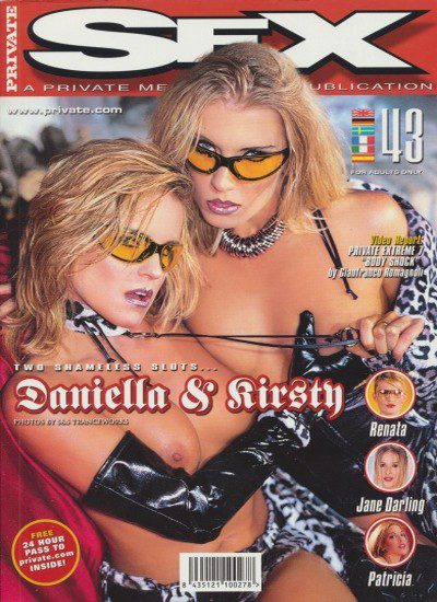 Front cover of Private Sex 43 magazine