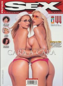 Front cover of Private Sex 44 magazine