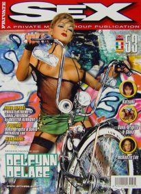 Front cover of Private Sex 53 magazine