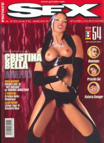 Front cover of Private Sex 54 magazine