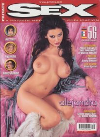 Front cover of Private Sex 56 magazine